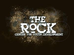 ROCK LOGO- Brown Background- Centered